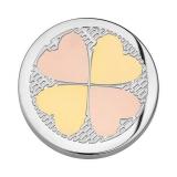 Coin tricolor 4 Herzen  EST Ø33mm