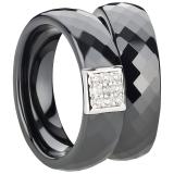 Ring Ceramic schwarz, 6mm breit