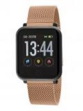 MAREA Smartwatch eckig mit rosé Meshband